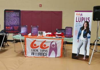 LLA Has Booth at Viterbo's Community Health Fair